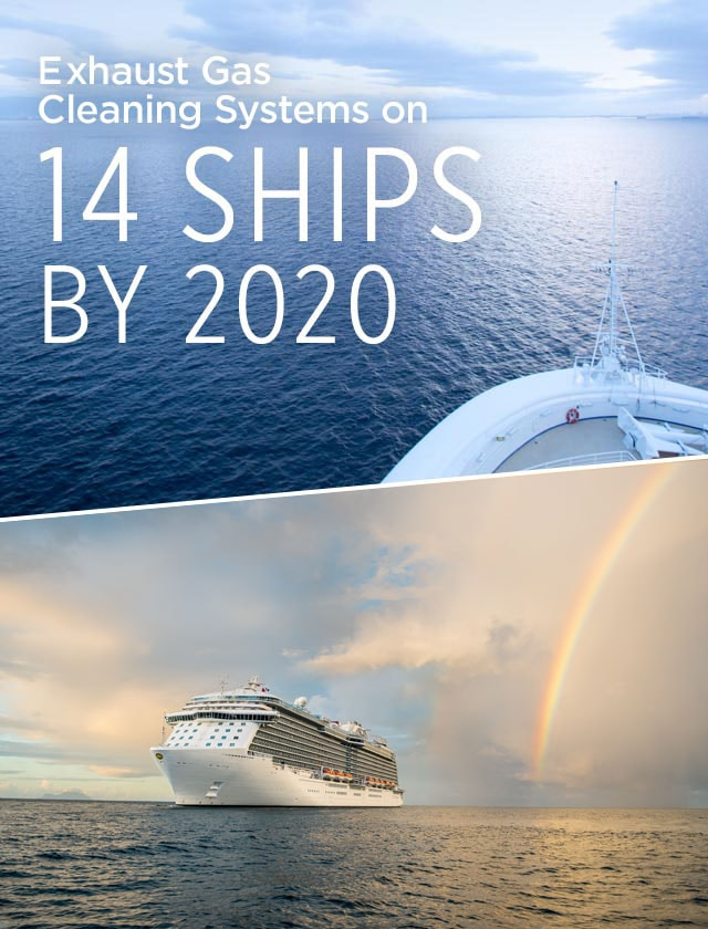 Exhaust Gas Cleaning Systems on 14 Ships by 2020