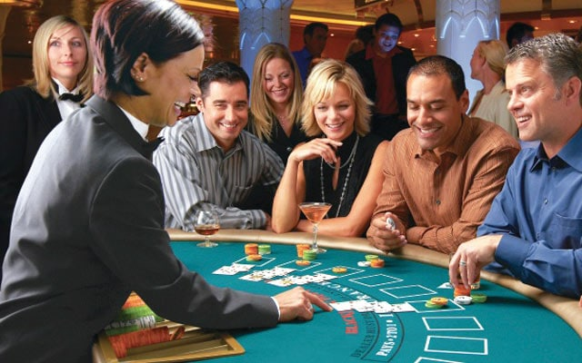 Cruise job casino types of employee at a casino
