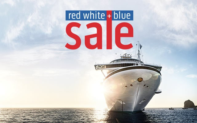 Red, White + Blue Sale