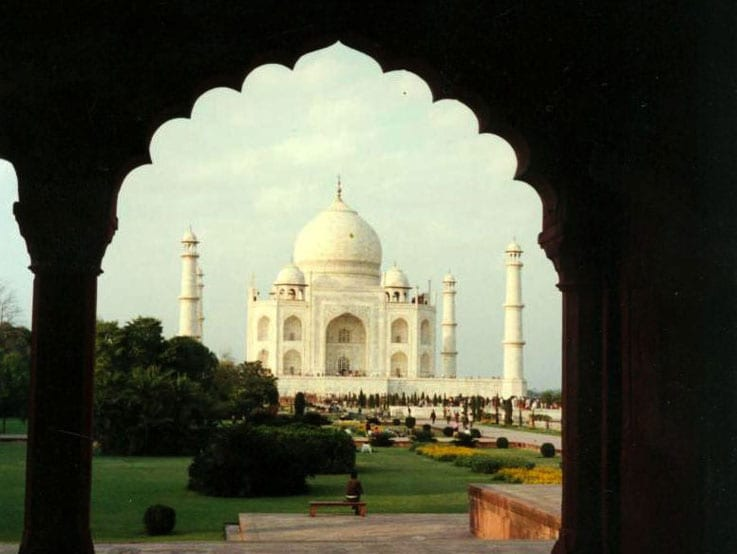 A stunning look at the Taj Mahal