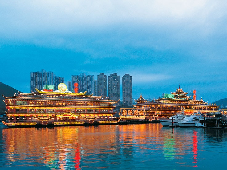 Hong Kong's floating restaurants