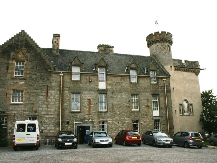Tulloch Castle located in the Scottish Highlands of Dingwall