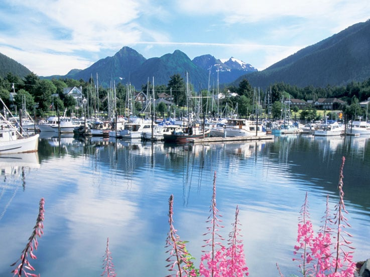 One of Sitka's beautiful views