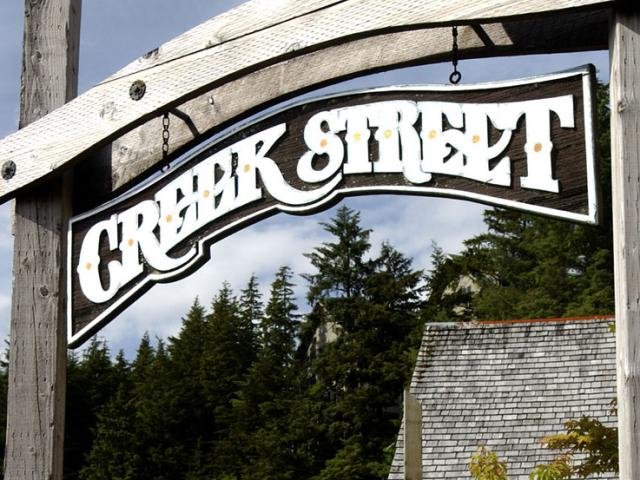 On a quiet stretch in Ketchikan, Alaska, you'll find Creek Street — former home of the red light district and current home of Dolly's House Museum, which offers visitors a peek into Alaska's more colorful past.
