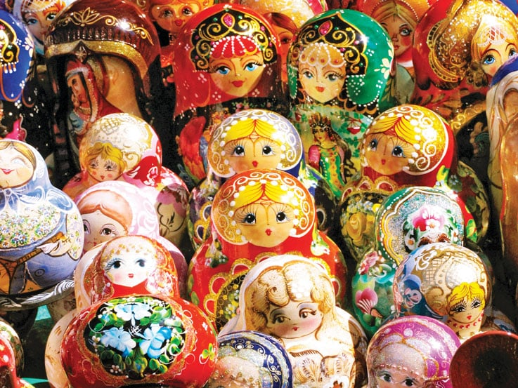 Matrioshka Nesting Dolls, St. Petersburg, Russia