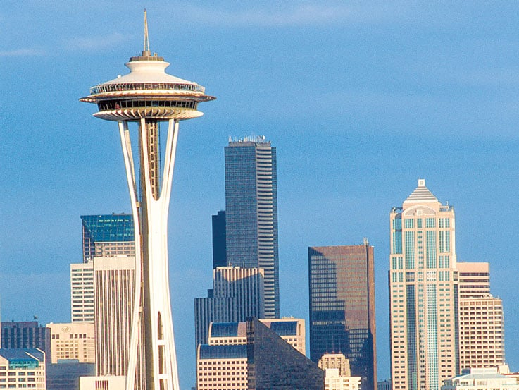 Space Needle in Seattle, Washington