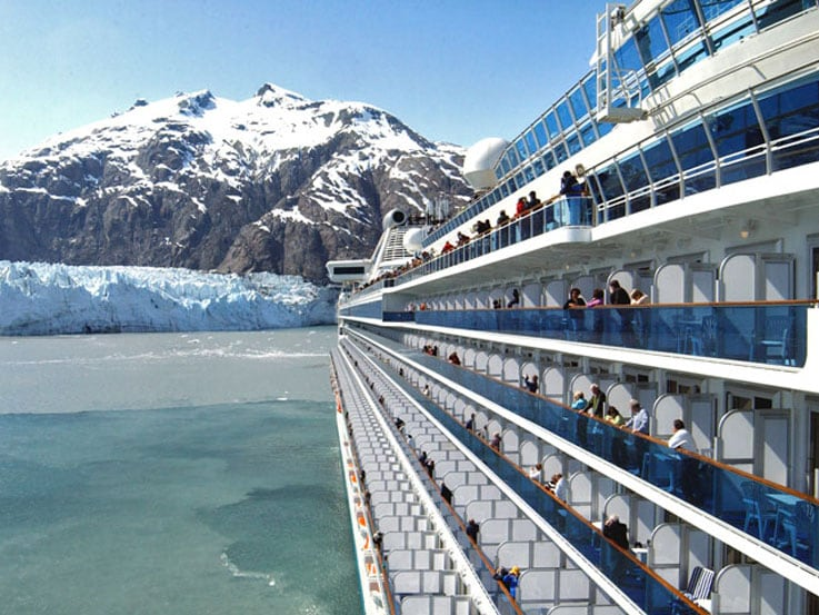 Cruising Glacier Bay in Alaska