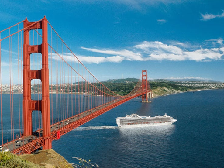 Visit san francisco on a california coastal cruise for Vacation ideas in california