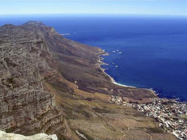Famed Cape Town Landmark Table Mountain