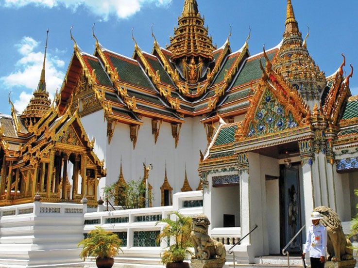 Royal And Religious Culture In Bangkok Thailand