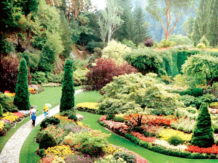 Butchart Gardens at Victoria, British Columbia