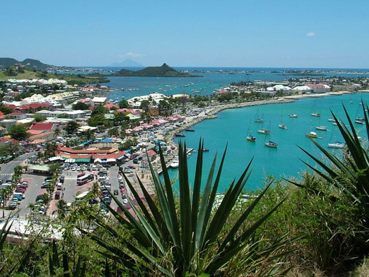 View of St. Maarten