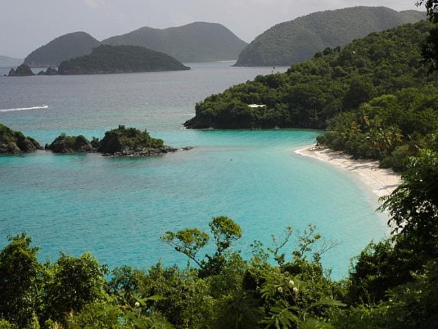 You can explore many of the natural ecosystems on St. John, including the Virgin Islands National Park, by hiking and snorkeling.