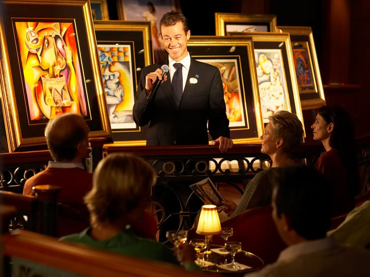 Bid on exquisite art onboard princess cruises for Auction advice