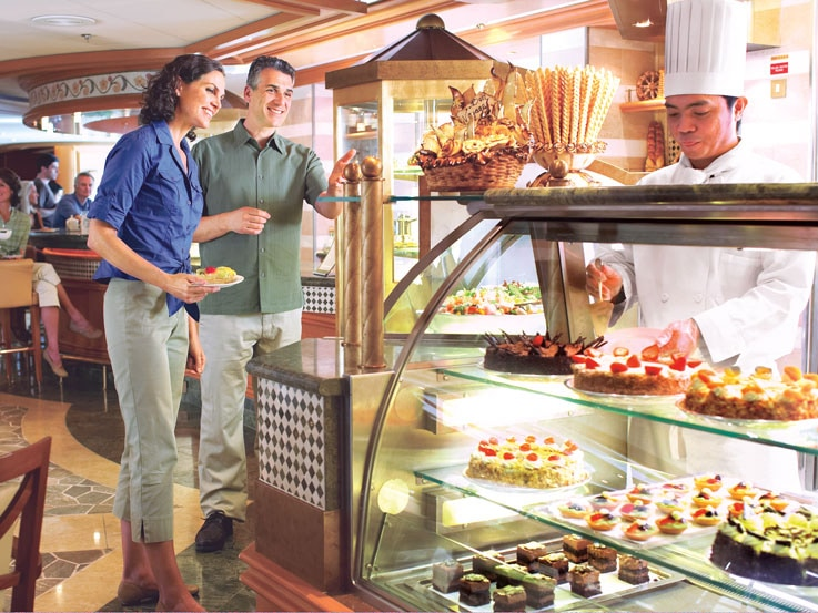 The International Cafe on Emerald Princess