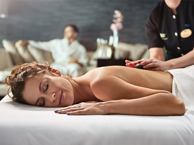 Couples massage, Lotus Spa