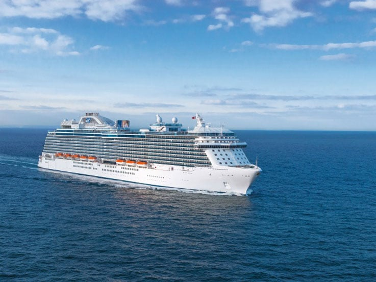 Royal Princess at Sea