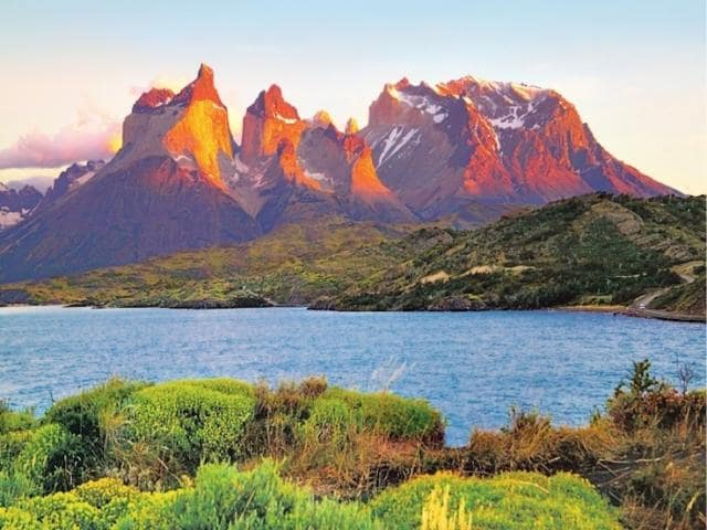 Visit Chile, and you'll see beautiful landscapes such as Torres del Paine in Patagonia.