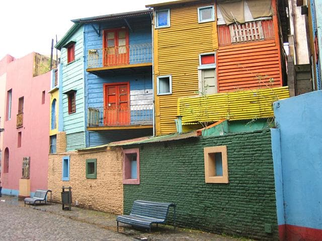 A working-class neighborhood, La Boca is home to two of Buenos Aires most beloved attractions: La Bombonera and Caminito.