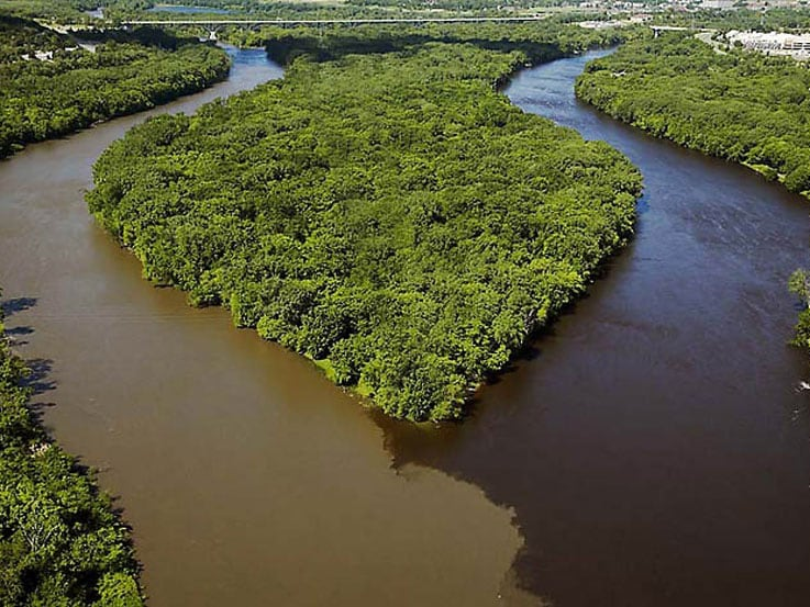 View The Meeting Of The Waters In Santarem Brazil