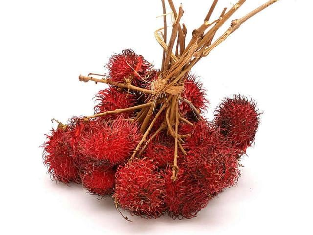 On your next South Pacific cruise, try tropical fruits you might never have heard of, like rambutan.