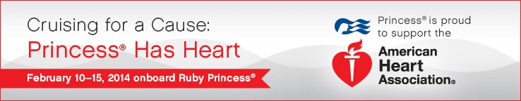 Cruising for a Cause: Princess has Heart