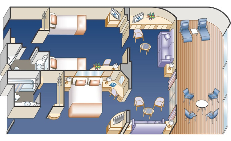 family suite diagram