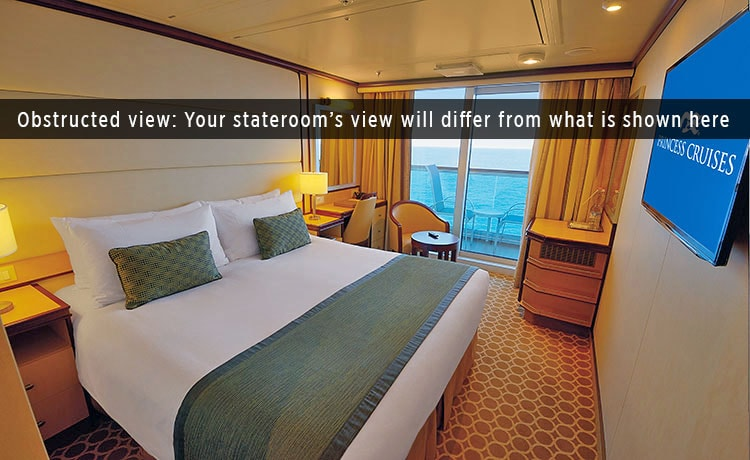 Regal princess princess cruises for Cruise ship balcony view