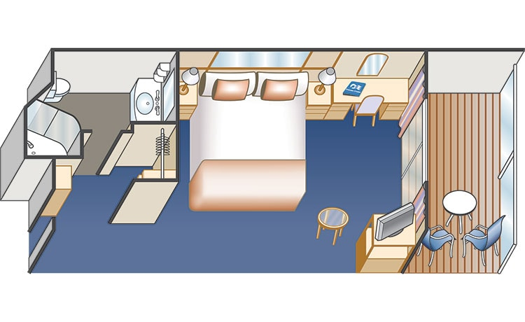 balcony stateroom diagram