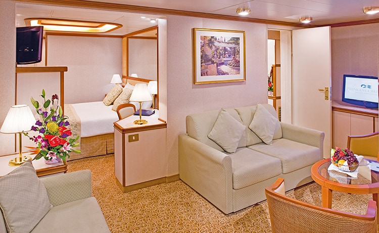 Crown Princess Family Suite Stateroom Large Photo