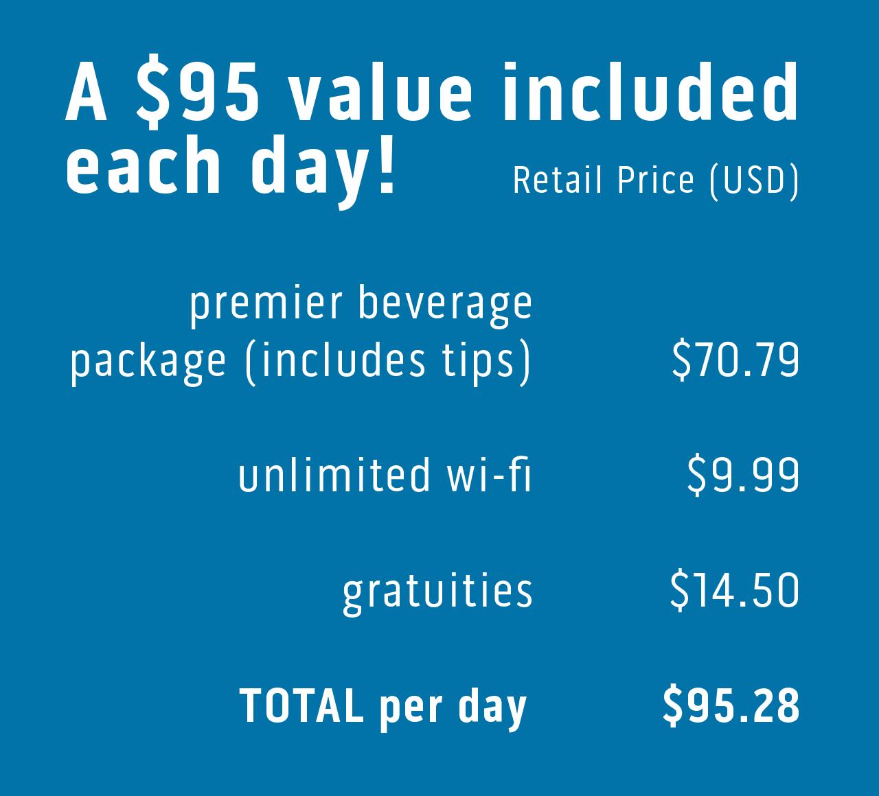 Princess Plus Cruise Deal Drinks Wi Fi Gratuities Princess Cruises