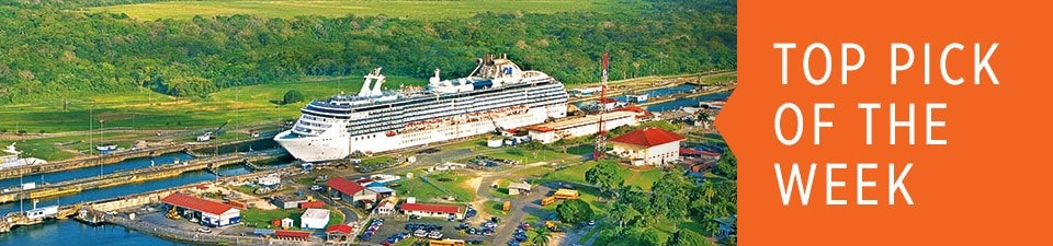 Visit the the Panama Canal, a Cruise Wonder of the World, on a Princess Cruise
