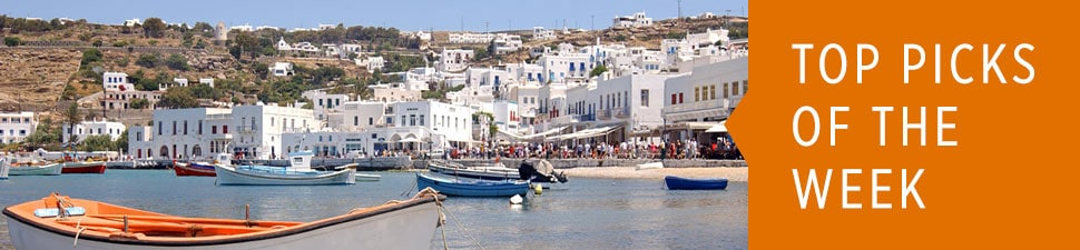 Visit the Greek Isles on a Mediterranean Cruise