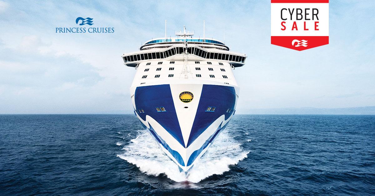Cyber Sale Sail Later Princess Cruises - Mini cruise ships for sale
