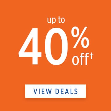 Up To 40 Off View Deals