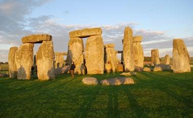英式列島與波特蘭(巨石陣)(從倫敦)