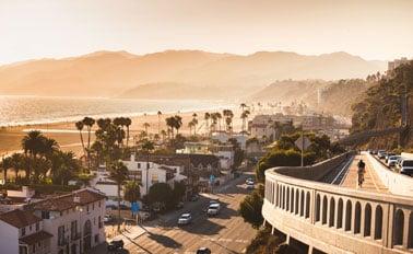 加州沿岸With聖盧卡斯岬