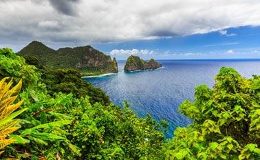 世界巡航分段-夏威夷&南太平洋