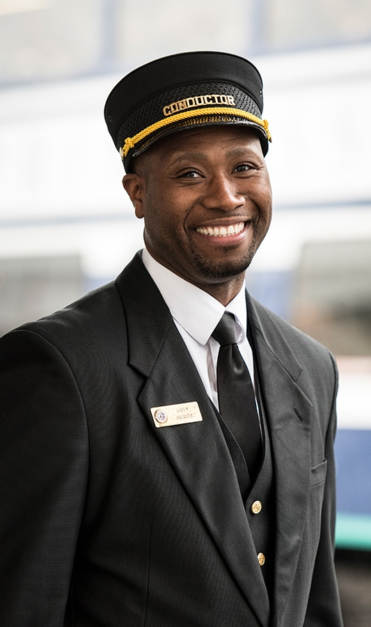 Conductor for Princess Cruises' rail service in Alaska