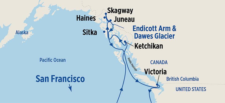 10 Day Alaska Cruises From San Francisco Princess Cruises