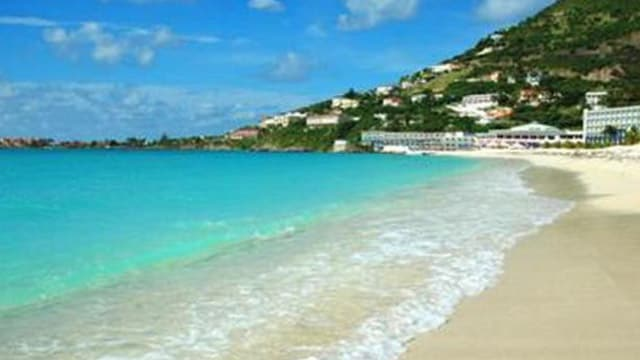 Caribbean Vacations Will Bring You To Beautiful Beaches Such As This One In St Maarten