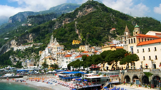 cruise to italy s amalfi coast princess cruises