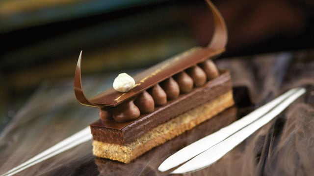 Chocolate dessert – Indulge in one of our chocolate desserts found on board.