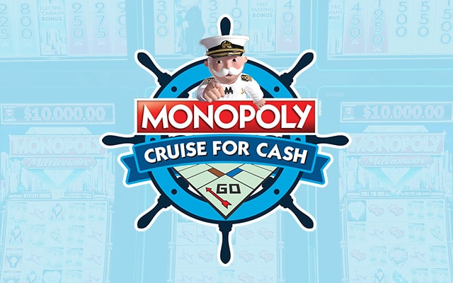 Monopoly cruise for cash logo