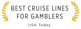 accolade for best cruiseline for gamblers by usa today