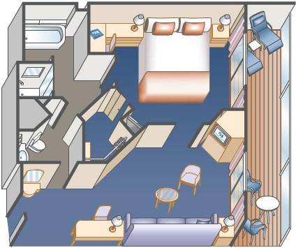 Cruise Ship Cabin Floor Plans