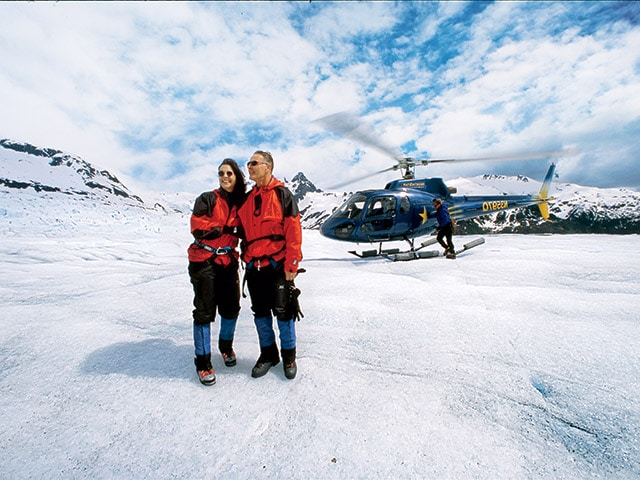Helicopter Excursion Glacier Landing