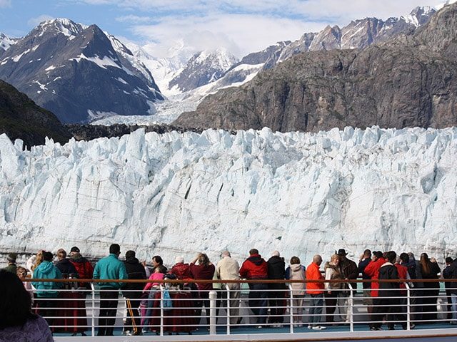 Viewing Margerie Glacier in Glacier Bay National Park