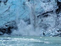 Calving Glacier in Glacier Bay National Park
