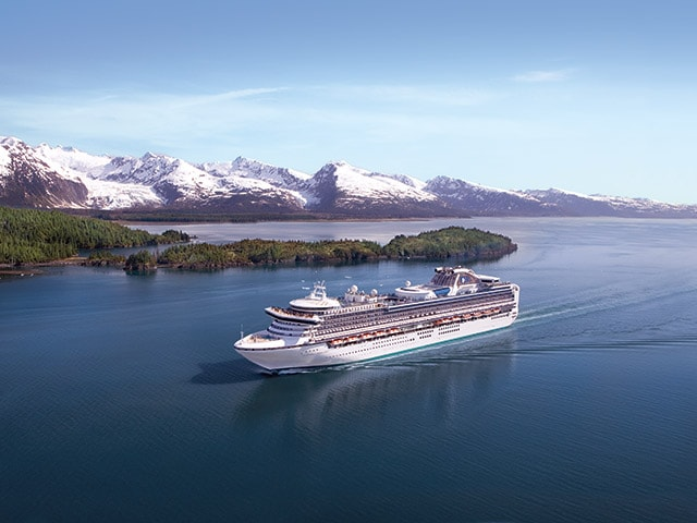 Inside Passage Princess Cruises